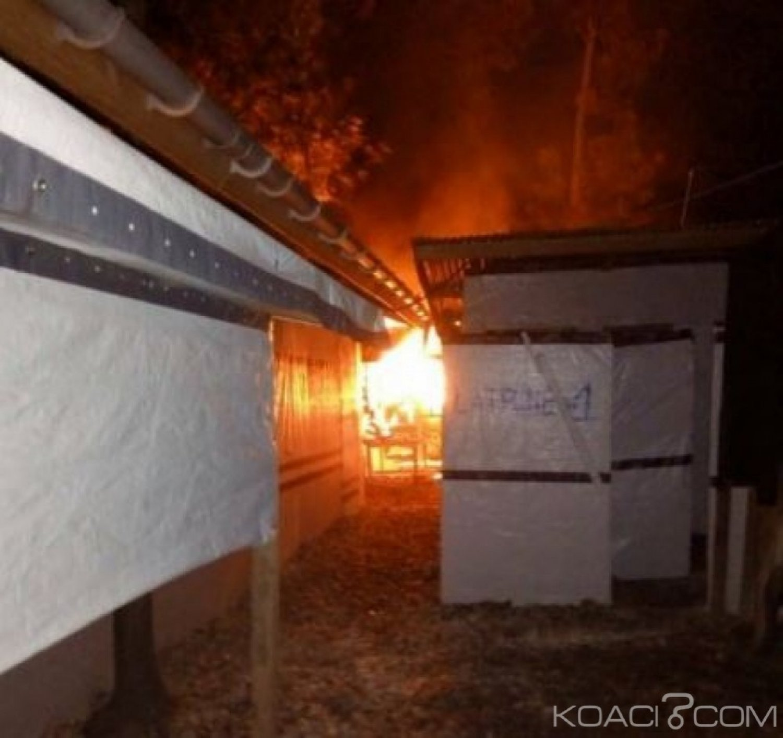 RDC  :  Un centre de traitement d'Ebola incendié par des   maï-maï à Katwa