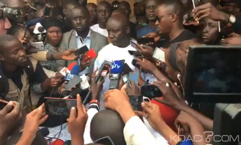 Sénégal : Présidentielle, l'opposition rejette les résultats et ne déposera «Âaucun recours au conseil constitutionnel»