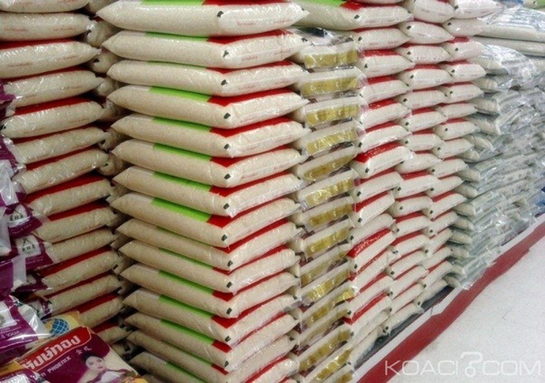 Burkina Faso : Plus de 100 tonnes de riz impropre à la consommation humaine et animale saisis