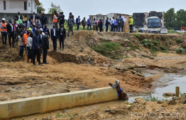 Côte d'Ivoire : Le  gouvernement s'attèle sur le terrain  pour régler de façon définitive, la question des inondations à Abidjan