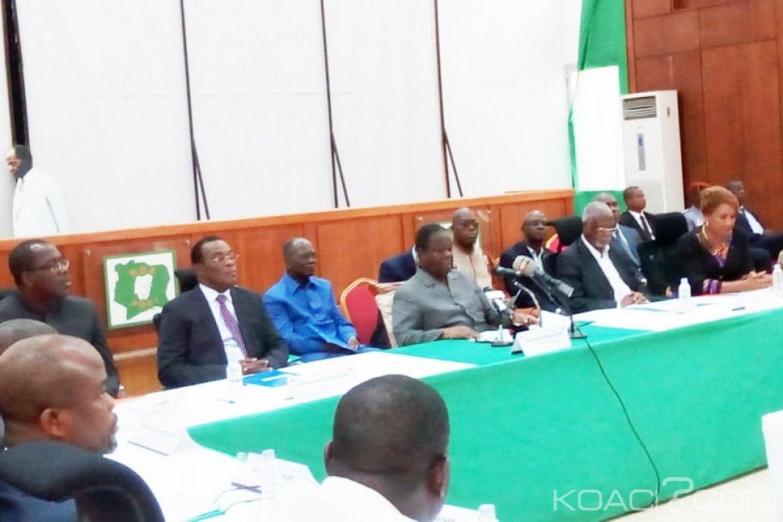 Côte d'Ivoire :  Réforme de la CEI, 22 partis politiques de l'opposition et mouvements adoptent un document unique pour les discussions avec le Gouvernement