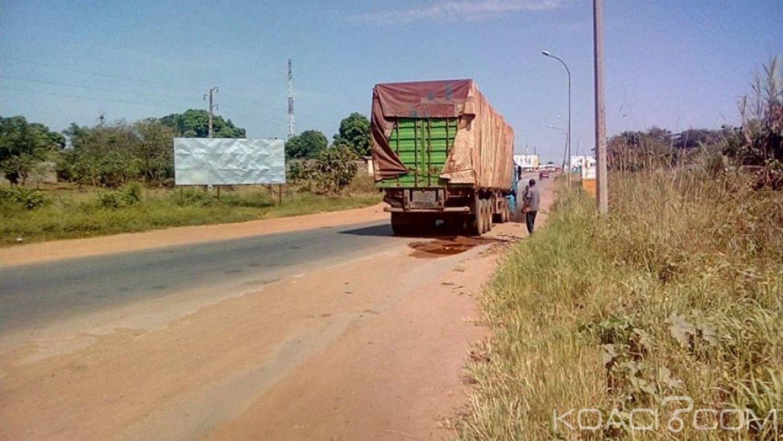 Côte d'Ivoire : Bouaké, deux personnes tuées dans deux accidents de la route