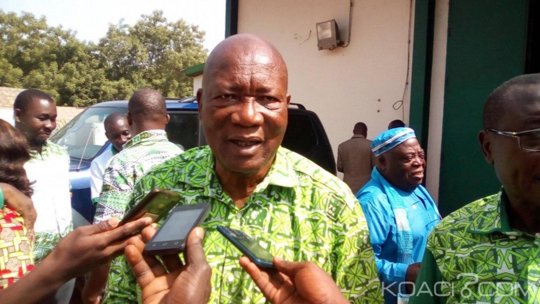 Côte d'Ivoire : Devant des militants depuis Bouaké, Yoboué Lazare «le PDCI Renaissance n'existe pas»
