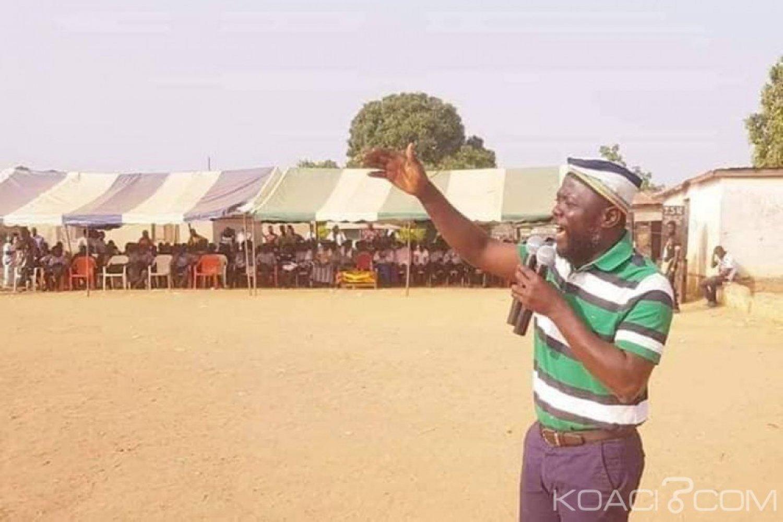 Côte d'Ivoire : Koua à Facobly «suis venu disposer vos cœurs à l'accueil triomphal de Gbagbo, à son retour triomphal au pouvoir en 2020»