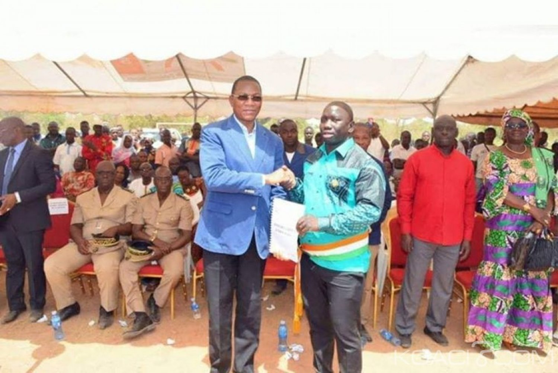 Côte d'Ivoire : Depuis Kolia, Nabagné Koné demande aux populations de faire confiance à Ouattara car il va leur donner le développement