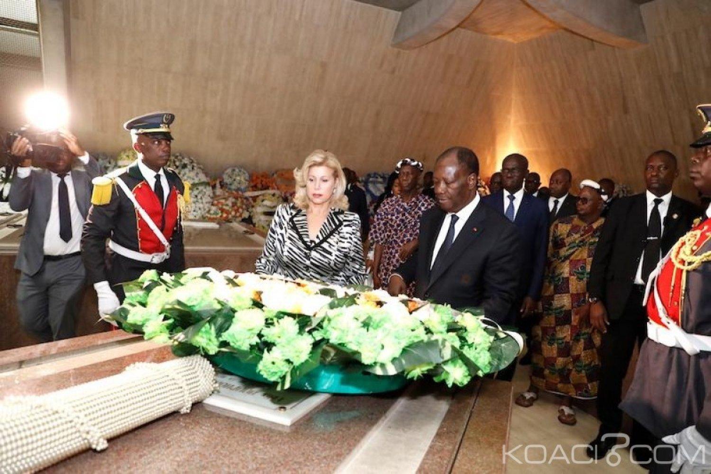 Côte d'Ivoire : Bédié en mission au caveau d'Houphouet pour défaire le pacte des chefs Baoulés au profit de Ouattara ?