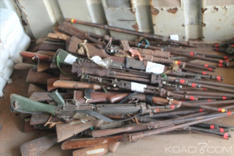 Côte d'Ivoire : Une cérémonie de  marquage et  de   destruction d'armes collectées annoncée pour jeudi à Akouedo