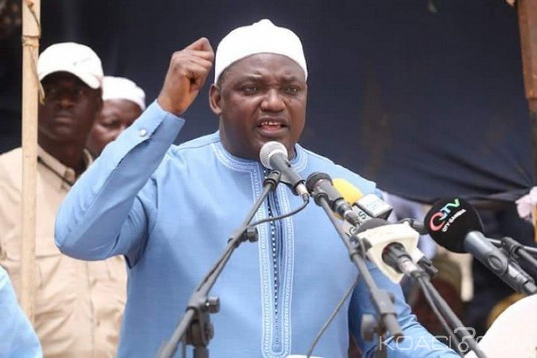 Gambie : Assemblée nationale, Barrow remplace un député révoqué sur fond de polémique