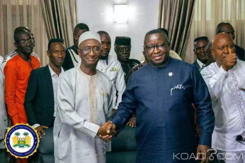 Sierra Leone : Pouvoir-opposition, Bio prêche pour une gouvernance inclusive