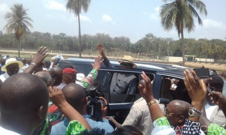 Côte d'Ivoire : Peu de chefs pour accueillir Bédié, le PDCI évoque une visite «discrète» à Yamoussoukro