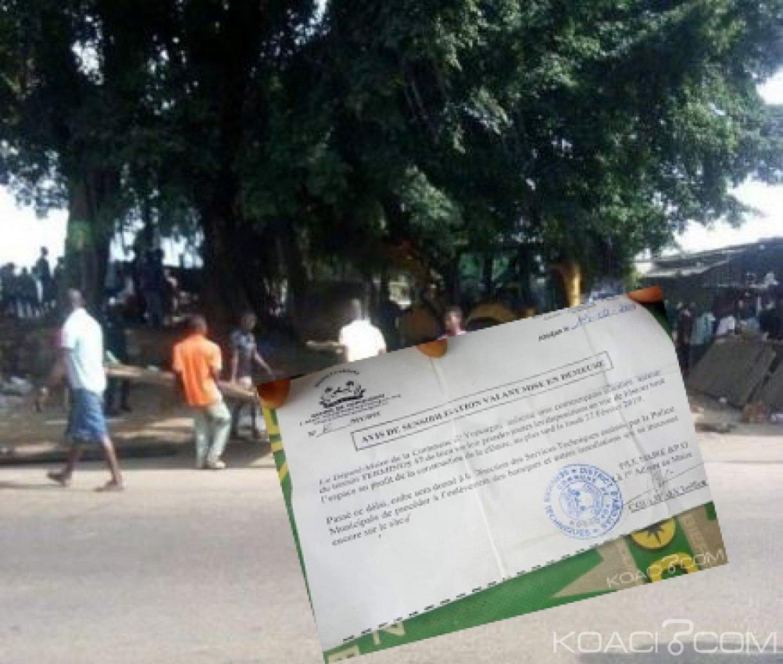 Côte d'Ivoire : A Yopougon, les commerçants occupant l'espace du terminus 47 déguerpis