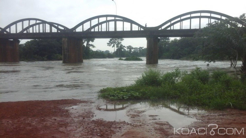 Côte d'Ivoire : Une élève emportée  mardi par le cours d'eau  du fleuve Bandama