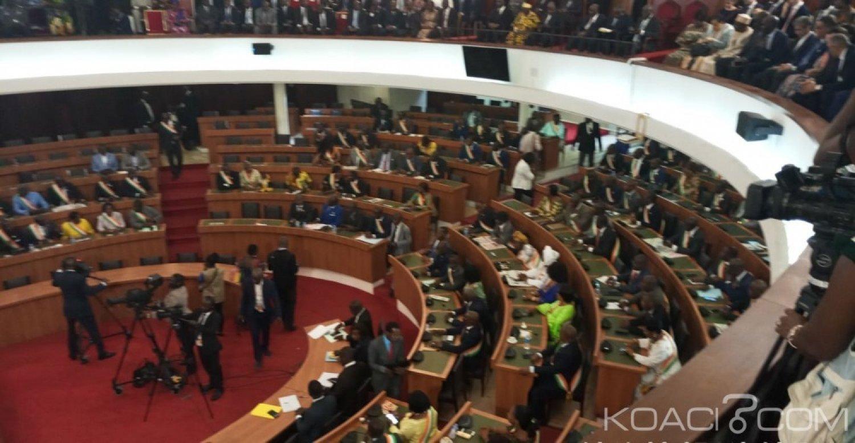 Côte d'Ivoire : Élection du Président de l'Assemblée,  Soro brille par son absence ainsi que plusieurs députés du groupe parlementaire PDCI-RDA, l'hémicycle vide au tiers