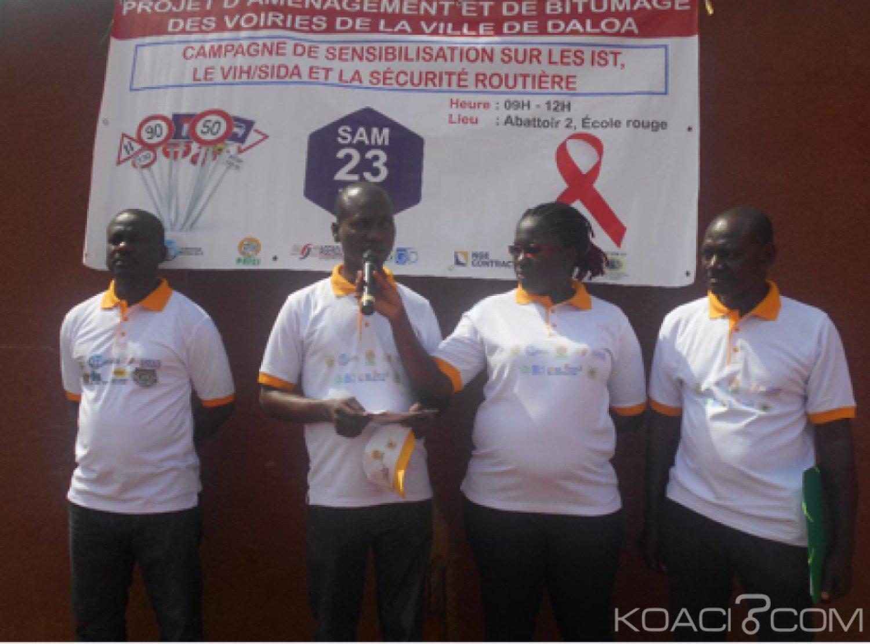 Côte d'Ivoire : A Daloa,  on sensibilise sur le projet d'aménagement et de bitumage des voiries