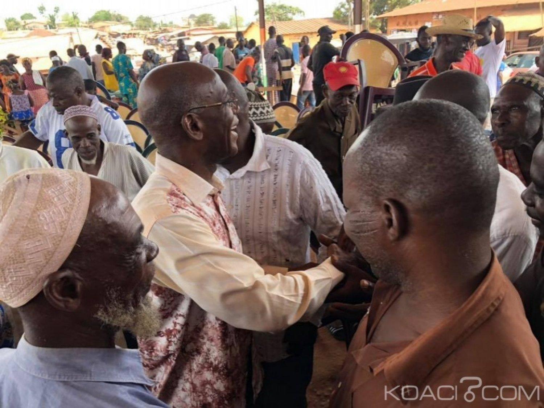Côte d'Ivoire : A Azaguié, Mamadou Coulibaly explique à ses administrés les changements qu'il va opérer