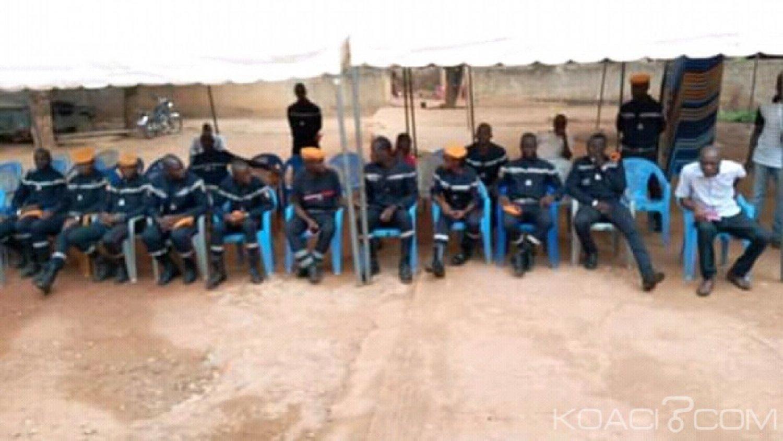 Côte d'Ivoire : Depuis la région du Iffou,  30 secouristes bénévoles de Daoukro à l'école des sapeurs-pompiers Français