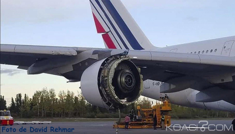 Côte d'Ivoire : Soucis technique en plein vol sur un avion d'Air France en partance pour Paris, panique à bord, retour à Abidjan