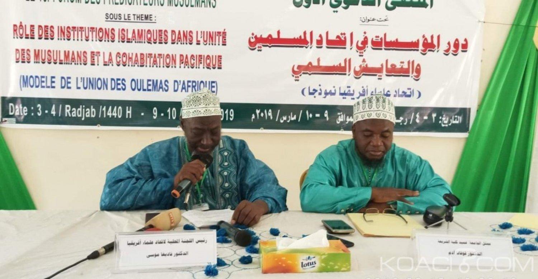 Côte d'Ivoire : Abidjan, les Oulémas appellent les associations islamiques à faire barrage à toute forme d'extrémisme
