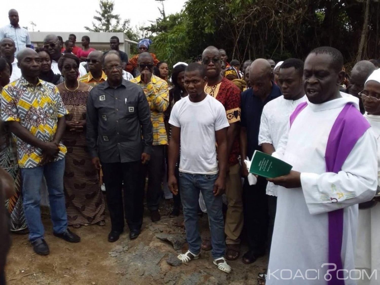 Côte d'Ivoire : Suite au décès du père de Franck Anderson, Ouégnin et EDS lui apportent leur soutien