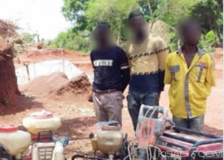 Côte d'Ivoire : Trois individus interpellés pour exploitation illicite de métaux et de pierres précieuses