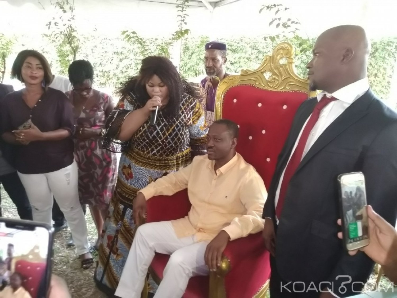 Côte d'Ivoire: Le MVCI chez Soro «on vous a arraché un tabouret, nous sommes venus vous donner un fauteuil»