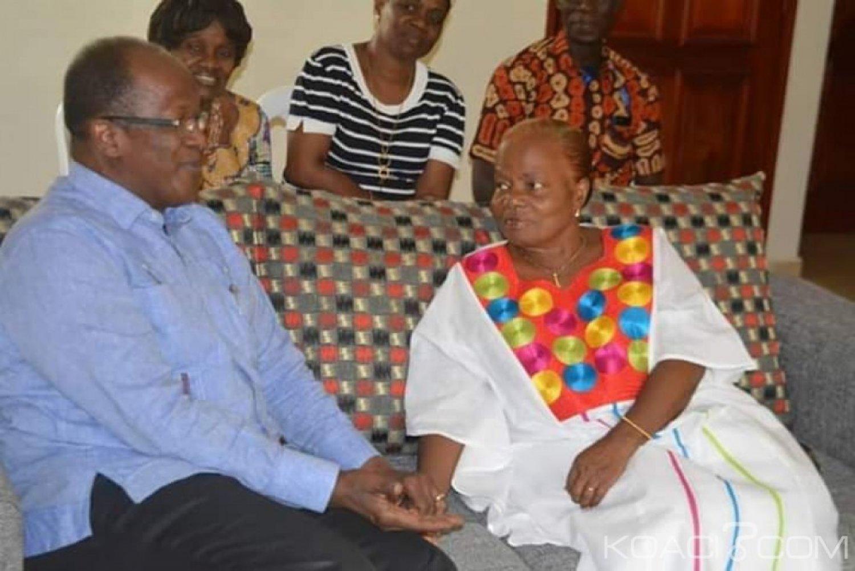 Côte d'Ivoire : Angèle Gnonsoa à Ouégnin «tout ce que je peux demander aux Ivoiriens, c'est la réconciliation vraie »