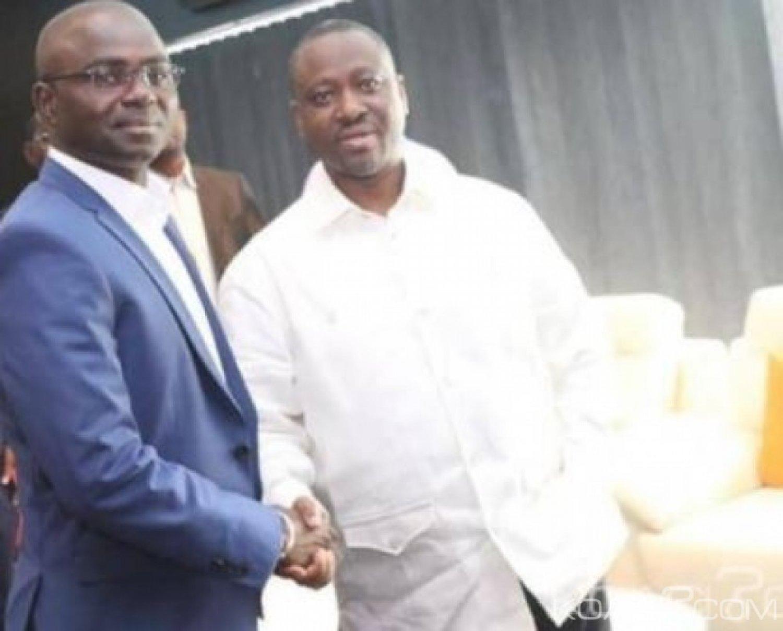 Côte d'Ivoire : Abidjan, dix jours après sa mutation en parti politique, Alphonse Soro présente l'APC et sa Direction à Guillaume Soro