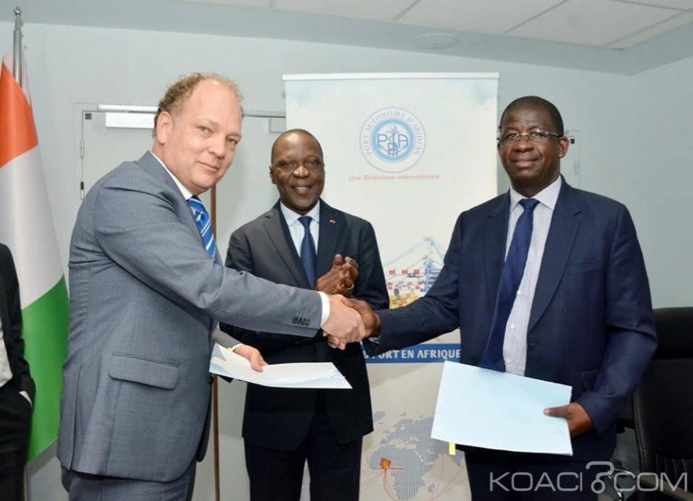 Côte d'Ivoire : Un protocole d'accord signé entre les ports d'Abidjan et d'Amsterdam en vue de promouvoir le commerce du cacao