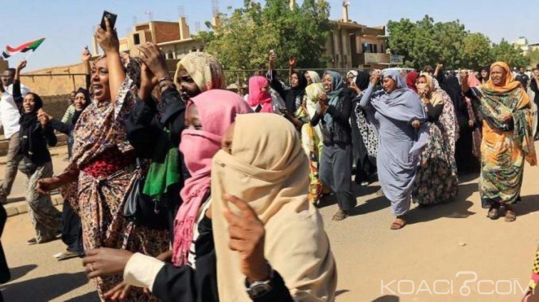 Soudan  : Neuf soudanaises condamnées à 20 coup de  fouets pour avoir manifesté