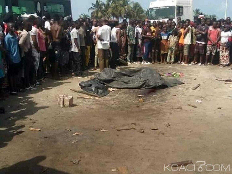 Côte d'Ivoire : Un gros camion tue deux femmes à Gonzaqueville