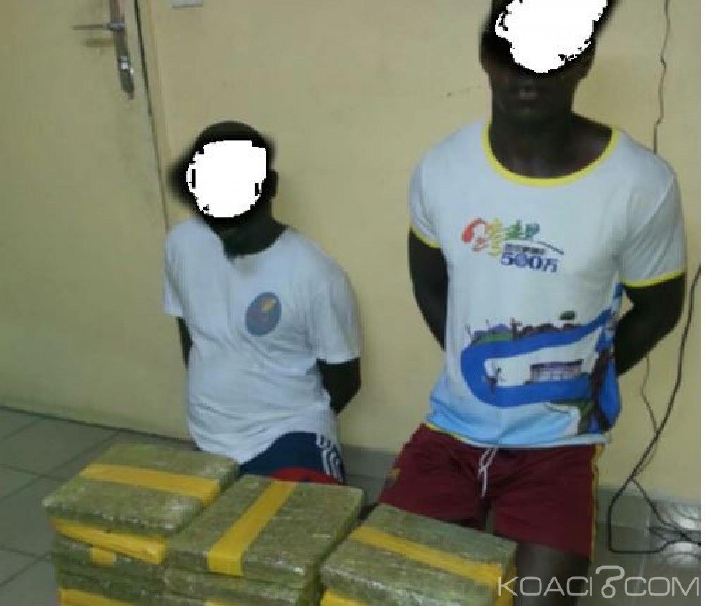 Côte d'Ivoire : Grand Bassam, deux vendeurs présumés de drogues interpellés