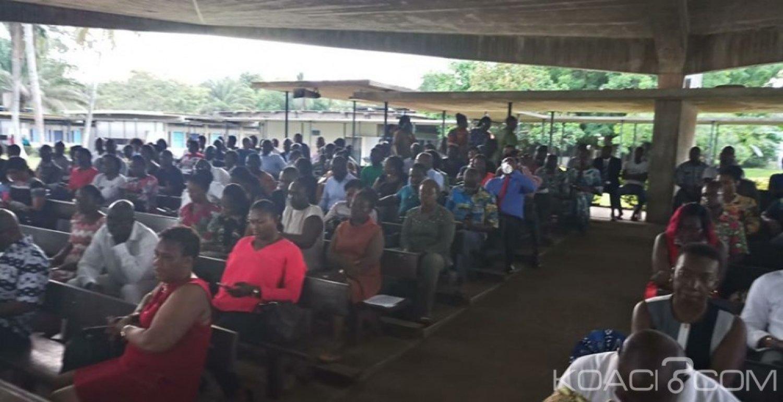 Côte d'Ivoire : Grève dans le secteur éducation-formation, frappé de plein fouet, le lycée Sainte Marie de Cocody à la recherche de solutions pour reprise des cours