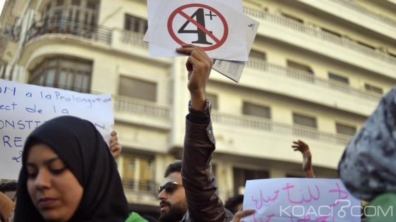 Algérie : Nouvelles manifestations contre la prolongation du 4ème mandat de Bouteflika