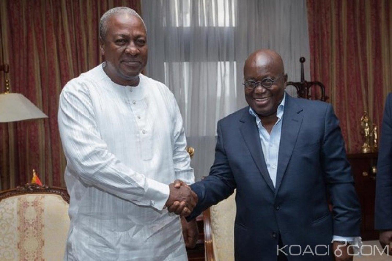 Ghana : Mahama dément un prétendu complot contre Akufo-Addo