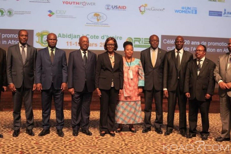 Côte d'Ivoire : Abidjan capitale de la Promotion et du développement de l'évaluation, 60 pays représentés et 650 participants