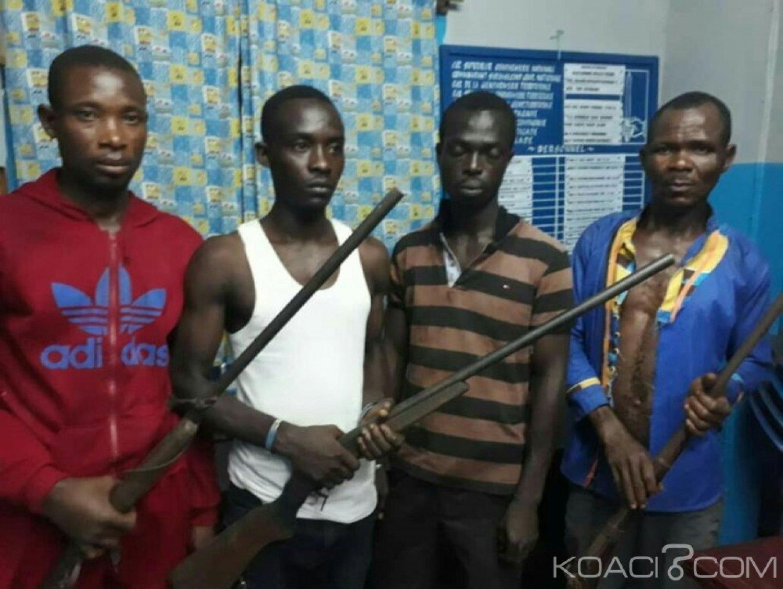 Côte d'Ivoire : Quatre braqueurs présumés arrêtés par la gendarmerie