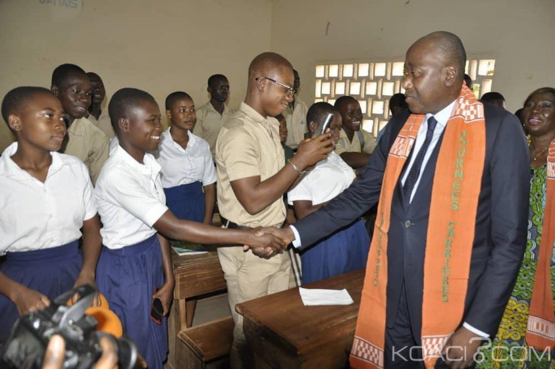 Côte d'Ivoire :  Depuis Korhogo, Amadou Gon Coulibaly invite les enseignants grévistes à reprendre les cours dès le lundi 18 mars