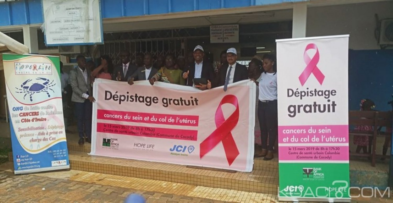 Côte d'Ivoire : Abidjan, lutte contre les cancers des seins et du col de l'utérus, JCI Abidjan ivoire lance une campagne de dépistage gratuit pour les femmes