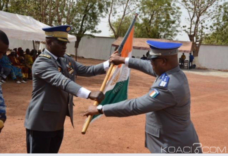 Côte d'Ivoire : Gendarmerie Nationale, Le colonel Dago  Théodore prend les commandes de la 4ème légion de Korhogo