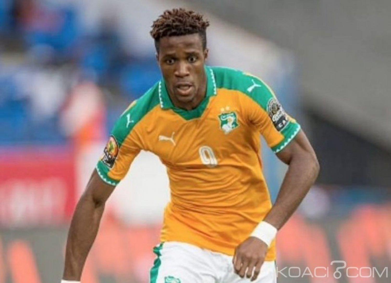 Côte d'Ivoire : CAN 2019, Wilfried Zaha forfait contre le Rwanda et le Liberia en amical