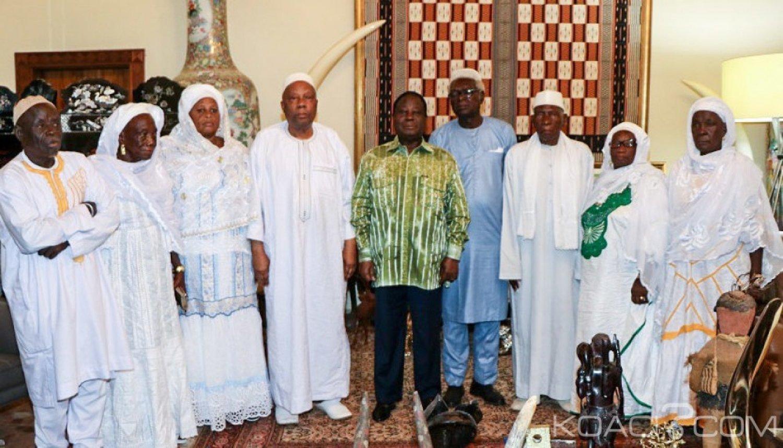 Côte d'Ivoire : Une délégation du Kabadougou à Bédié « La vérité, c'est dans les urnes »