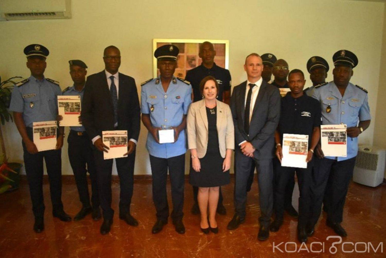 Côte d'Ivoire : Lutte contre la Cybercriminalité, la PLCC reçoit les remerciements de la Gendarmerie Royale Canadienne  (GRC)