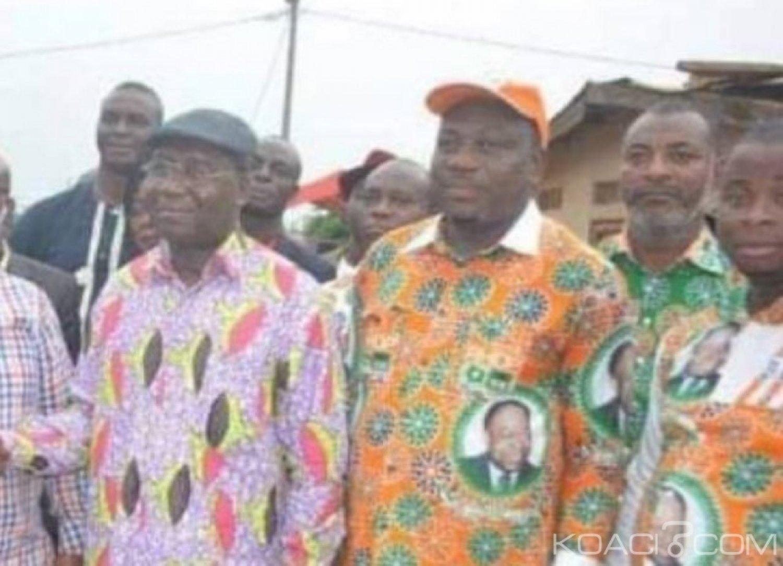 Côte d'Ivoire : Depuis Gagnoa, Alcide Djédjé révèle que des cadres  du FPI vont eux aussi créer leur parti politique dans les jours qui suivent