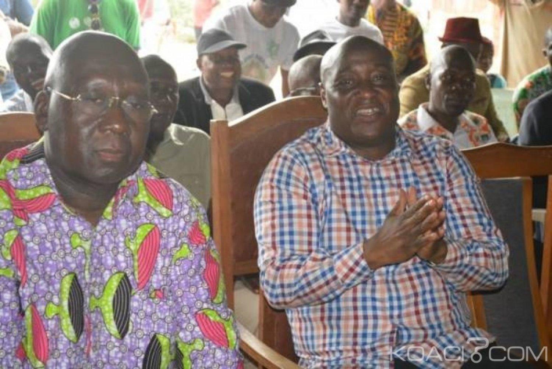Côte d'Ivoire : Aperçu aux côtés d'Alcide Djédjé (RHDP),  Simplice Zokora veut-t-il tourner le dos au FPI ?