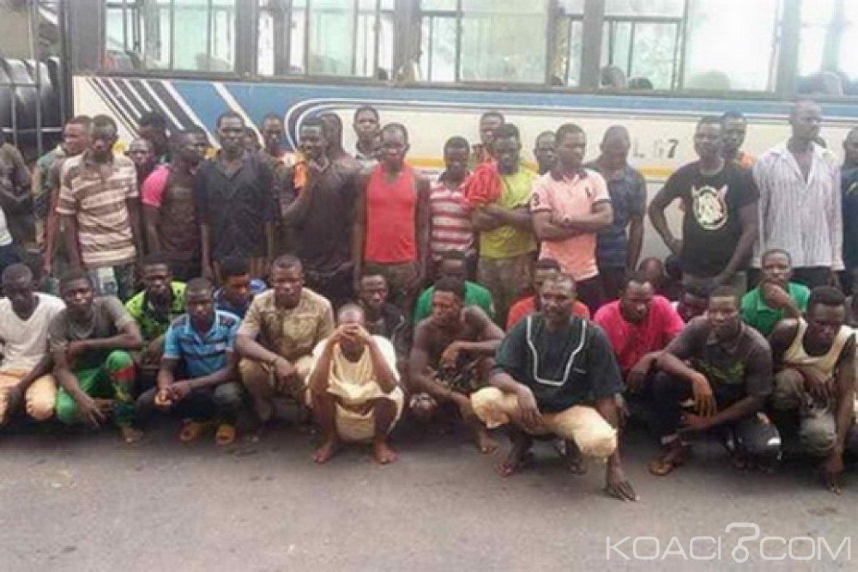 Ghana : 59 ouest africains arrêtés pour exploitation minière illégale