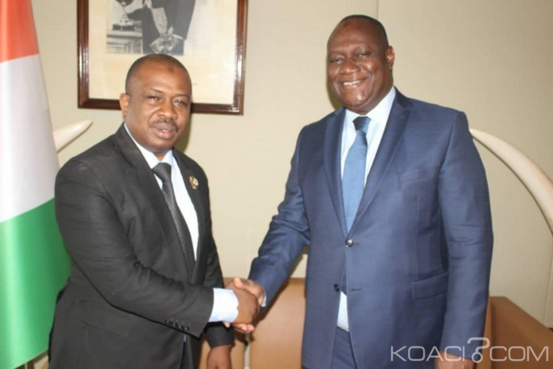 Côte d'Ivoire : Après son adhésion à «PDCI-Renaissance », Zié Coulibaly réitère à Birahima Ouattara son engagement à œuvrer pour la promotion du RHDP