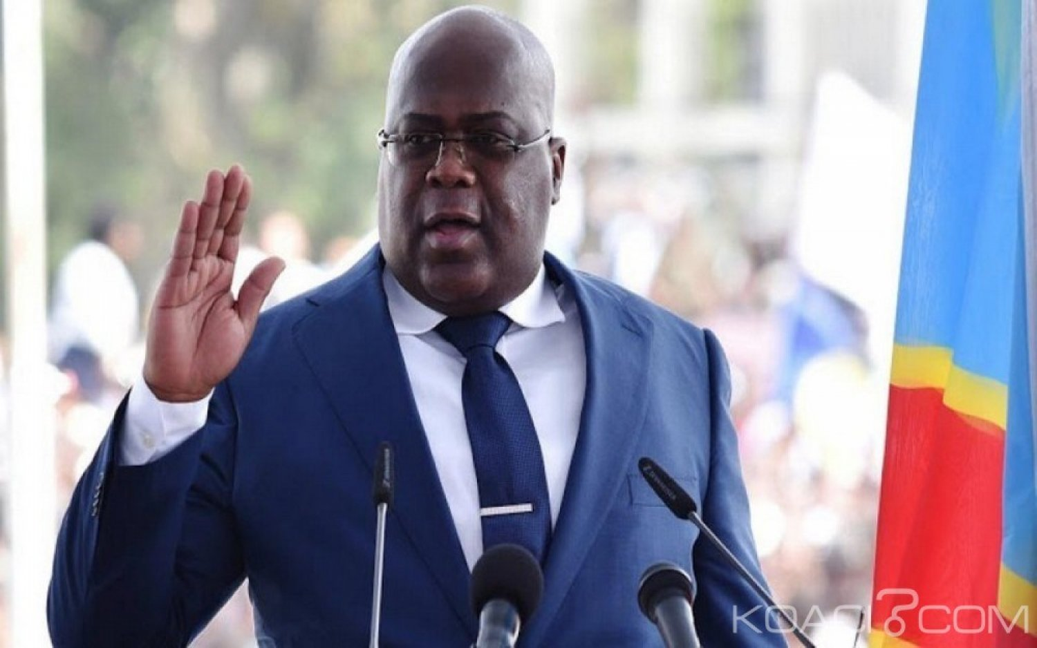 RDC : Suspension de l'installation de sénateurs,  un journaliste porte plainte contre  Tshisekedi