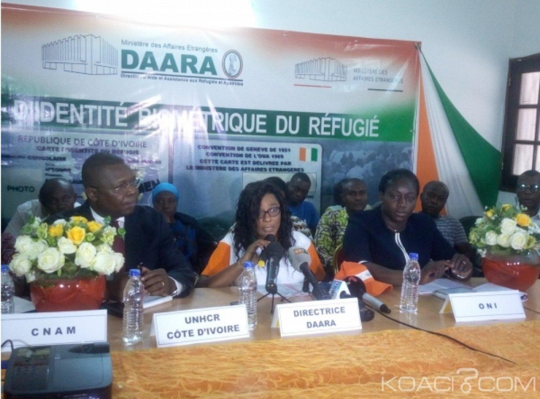 Côte d'Ivoire : Libre circulation,  des cartes biométriques octroyées aux réfugiés