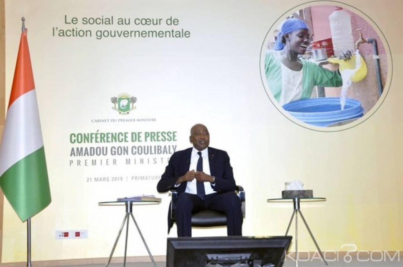 Côte d'Ivoire : Grève dans le secteur éducation-formation,  Amadou Gon confirme le gèle des comptes des enseignants grévistes et assure la levée de cette mesure le lundi prochain