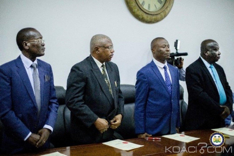 Sierra Leone : Entrée de quatre nouveaux juges à la Cour suprême